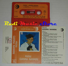 MC GIANNA NANNINI Puzzle 1984 1 stampa italy RICORDI RIK 76309 cd lp dvd vhs ***