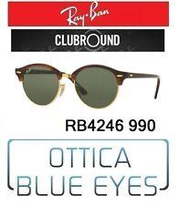 Occhiali da sole RAYBAN 4246 990 clubround CLUBMASTER ROUND Sunglasses RAY BAN