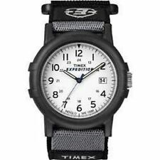 Timex T49713 Mens Camper Analog 12/24 Hour Wrist Watch Velcro Strap Date Display