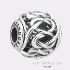 Authentic Pandora Essence Collection Sterling Silver Friendship Bead 796057