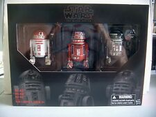 STAR WARS THE BLACK SERIES~SDCC TRU EXCLUSIVE~ASTROMECH DROID 3 PACK~BRAND NEW