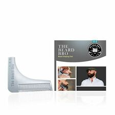 (Made in the USA)  The Beard Bro- Beard Shaping Tool- Grey