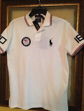 Polo Ralph Lauren USA Olympic Team white Big Pony polo shirt size Medium $125