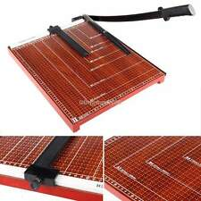 """18""""x15""""  A3 Paper Cutter Guillotine Trimmer Base Wood Board Office Home Metal"""