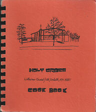 *DULUTH MN 1977 VINTAGE *HOLY CROSS LUTHERAN CHURCH COOK BOOK *MINNESOTA RECIPES
