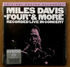 Miles Davis , Four & More , Recorded Live in Concert  ( CD_SACD-Hybrid )