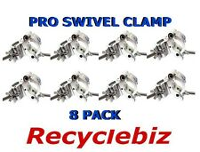 NEW! Global Truss Pro Swivel Clamp (8 PACK) Double Cheeseborough Best Pricing!