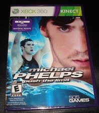 Michael Phelps: Push the limit Xbox 360 Xbox360 (Brand NEW)KinectSensorRequired
