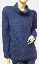$44 NWT SONOMA Authentic Women's Fashion Cowl Neck Boucle P/O Sweater Sz.Med