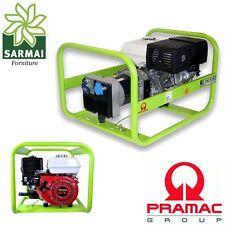 Generatore di corrente PRAMAC E 5000 motore Honda GX gruppo ellettrogeno 4,6Kw