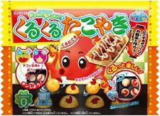 Kracie Japanese DIY candy kit Popin Cookin octopus ball Kuru kuru Japan takoyaki