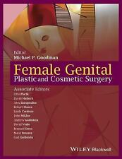 Female Genital Plastic and Cosmetic Surgery (2016, Hardcover)