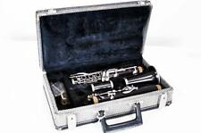 LE BLANC, PARIS NORMANDY MODEL 4 GRANADILLA WOOD CLARINET, C.1960 WIT... Lot 200