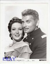 Linda Darnell Jeff Chandler VINTAGE Photo Two Flags West