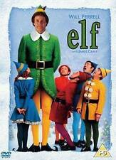 ELF DVD Christmas Santa Festival Season Movie Original UK Release Will Ferrell