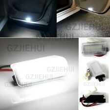 2x LED Door light Side Step Footwell Lamp For Toyota Alphard Camry Estima Crown
