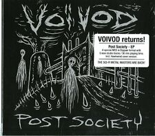 VOIVOD POST SOCIETY (EP) CD DIGIPACK NUOVO SIGILLATO !!