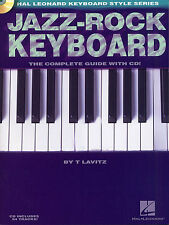 Jazz Rock Keyboard Complete Guide Learn to Play Piano Beginner Music Book & CD