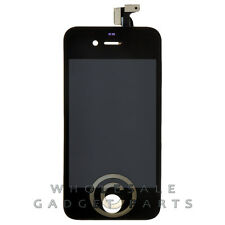 LCD Digitizer Frame Assembly for Apple iPhone 4 GSM Black Front Glass Touch