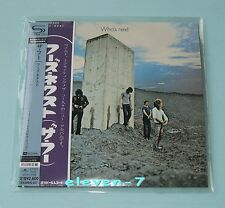 THE WHO Who's Next JAPAN mini LP CD SHM HR CUTTING REMASTERED