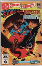 DC Comics  1981  SUPERMAN  #37 Hawkgirl c2.304