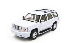1:24 Welly 2002 Cadillac ESCALADE Diecast Model Car Vehicle Toy White New in Box