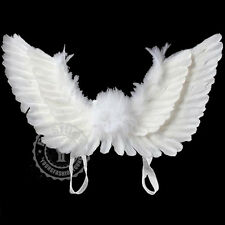 UK Kids Feather Angel Fairy Wings Party Fancy Dress Costume Cosplay Accessory