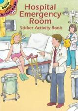 Hospital Emergency Room Sticker Activity Book (Dover Little Activity Books), Cat