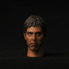New C0028 Scarface Star Man Figure Head Sculpt Toy 1/6Model Play Head Collection