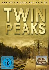 10 DVDs * TWIN PEAKS - DEFINITIVE GOLD BOX EDITION # NEU OVP +