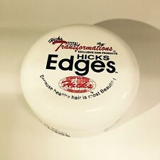 HICKS Edges Hair Gel Edge Control Pomade Total Transformations Hair Products 4oz