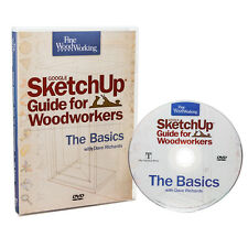SketchUp Guide for Woodworkers, DVD-ROM - Media   Woodworking Software