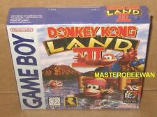 GB Donkey Kong Land III 3 New Sealed H-Seam (Nintendo Game Boy, 1997)