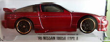 Hot Wheels 2015 HW Workshop '96 Nissan 180SX Type X Red First Edition 1:64