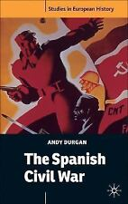 The Spanish Civil War (Studies in European History), Durgan, Andy, Acceptable Bo