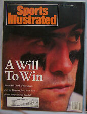 Will Clark San Francisco Giants 1990 Sports Illustrated