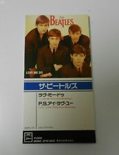 BEATLES japanese CD Single Love Me Do & P.S. I Love You EMI Odeon Brand New