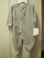 Kissy Kissy multi striped Footie Size 6-9 Months NWT
