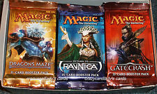 MAGIC GATECRASH RETURN TO RAVNICA DRAGON'S MAZE BOOSTER BOX 12 PACKS OF EACH