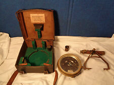 ~*~*ESTATE FIND~*~ ANTIQUE SURVEYING COMPASS 1879 T F RANDOLPH