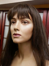 REALISTIC Adel ROOTSTEIN BB5 MANNEQUIN & Wig Female Made in England Vtg