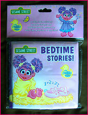 SESAME STREET BABY BATH BOOK Abby Cadabby Fairy 13cm Soft Bathtime Bubble Bk NEW