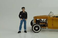 Greasers Johnny personaje figurines figuras 1:18 figures American Diorama/no Car