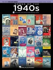 Songs of the 1940s Sheet Music The New Decade Series with Optional Onl 000137582