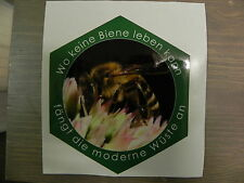 Auto Aufkleber Biene grün,Imker,Imkerei,Top Qualität,bee