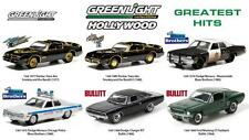 GREENLIGHT 44711 HOLLYWOOD SERIES GREATEST HITS SET OF 6 DIECAST CARS 1:64