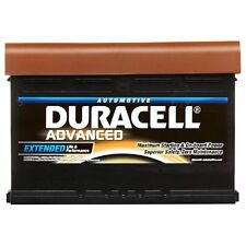 Type 075 540CCA Sealed OEM Replacement Duracell Advanced Car Battery 12V 62Ah