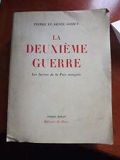 La deuxième guerre Les secrets de la paix manquée Pierre et Renée Gosset 1950 C9