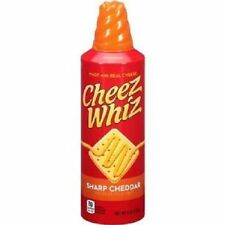 Cheez Whiz Sharp Cheddar Cheese Sauce
