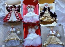 Princess Barbie doll lot of 6 Holiday Barbies
